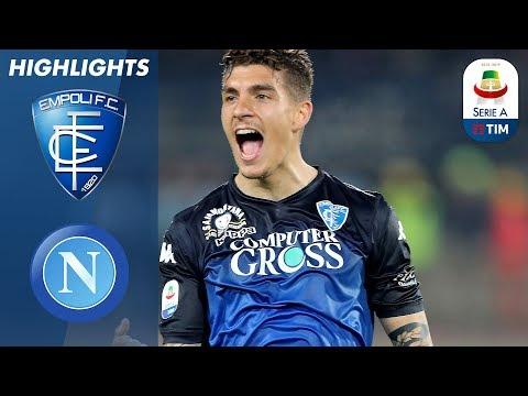 Empoli 2-1 Napoli | Empoli shock 2nd placed Napoli with impressive victory | Serie A