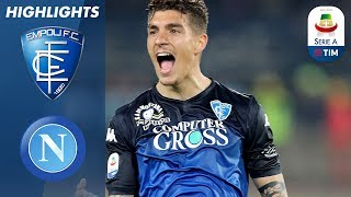 Empoli 2-1 Napoli | Empoli shock 2nd placed Napoli with impressive victory | Serie A