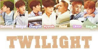 BTOB (???) - TWILIGHT  Lyrics (Color Coded/ENG/ROM/JPN) MP3