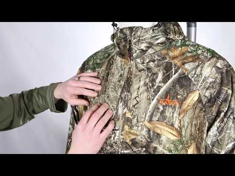 Habit Men's Trapper Lake Packable Rain Jacket - Camo