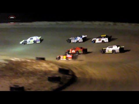 Desert Thunder Raceway IMCA Sport Mod Heat Races 9/28/18