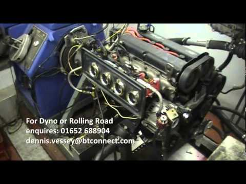 Ford Zetec BlackTop Engine Dyno Run March 2014