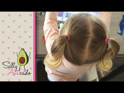 Ponytails - 6 Easy Back-to-School Ponytail Hairstyles for Toddler Girls! How to do Ponytail/pigtails