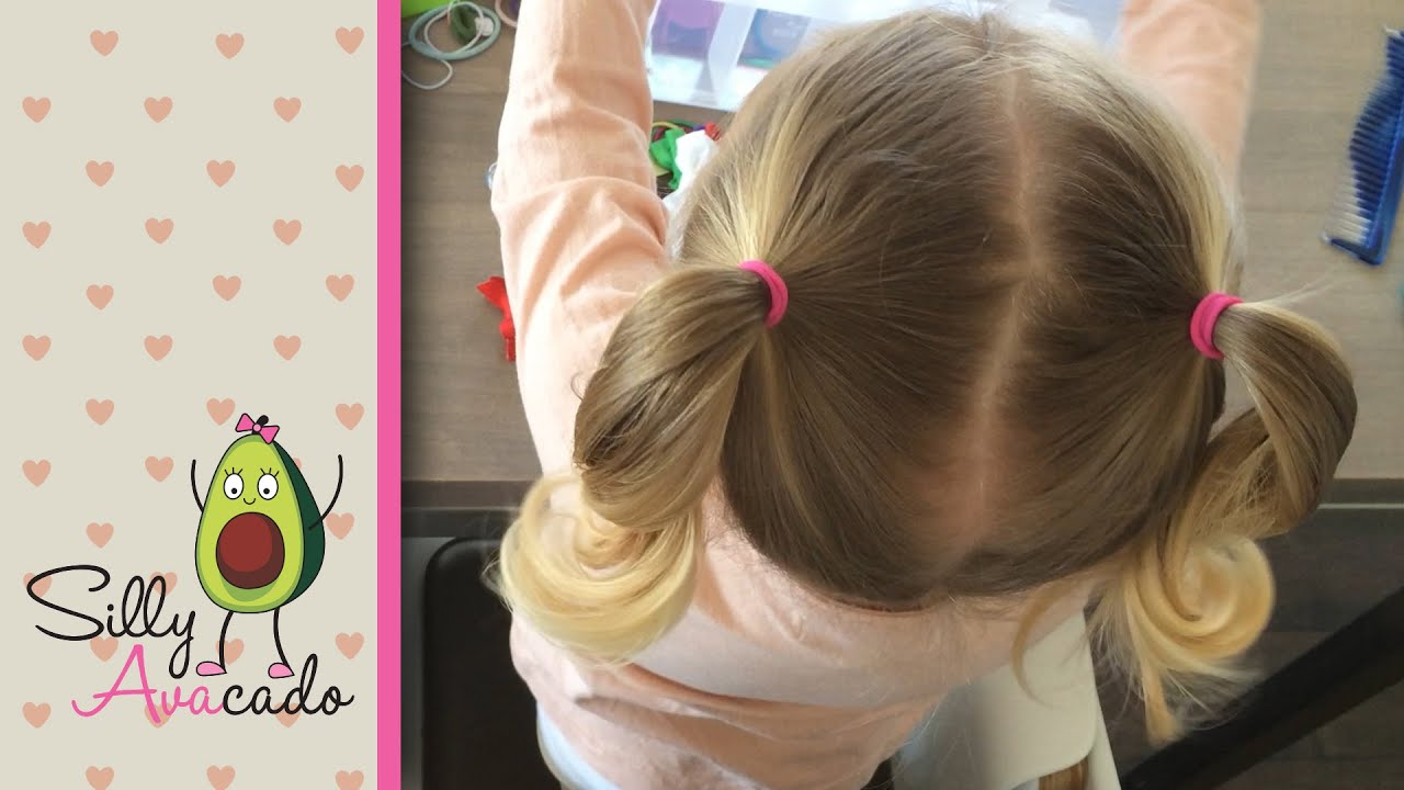 Ponytails 6 Easy Back to School Ponytail Hairstyles for Toddler