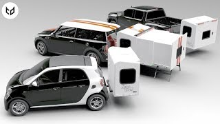 AMAZING Mini Camper Caravans That You Would Like to Have For Camping
