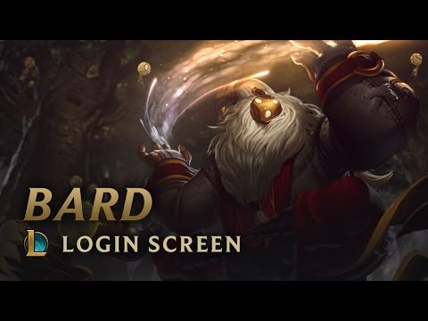 Bard, the Wandering Caretaker | Login Screen - League of Legends