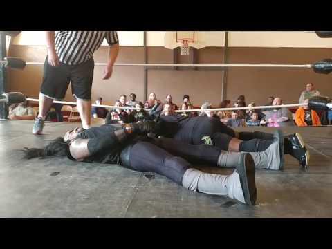 Soul Taker VS The Black Superman Lexx Vegas for the CWA Heavyweight Title