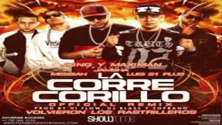 La Corre Corillo - JKing y Maximan Ft. Jamsha Messiah Y Luigi 21 Plus (Official Remix)
