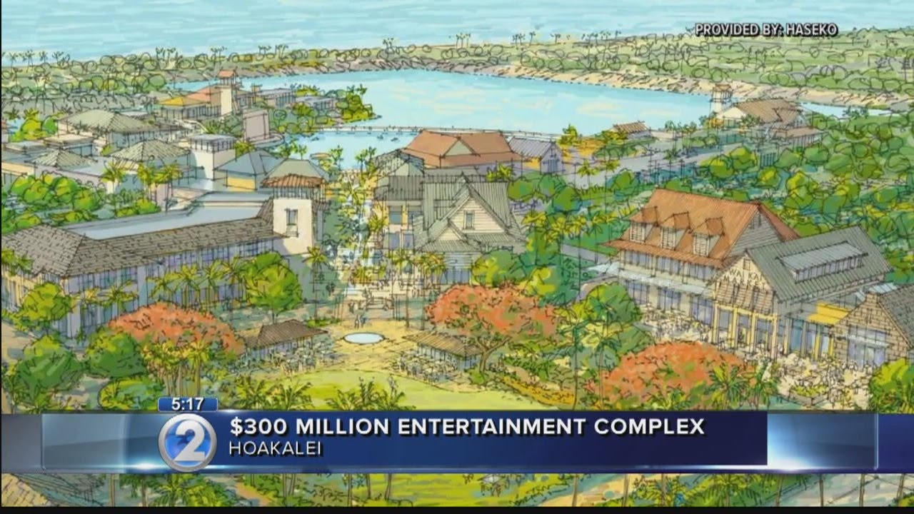 300 Million Retail Dining Entertainment Complex Announced For Ewa Beach