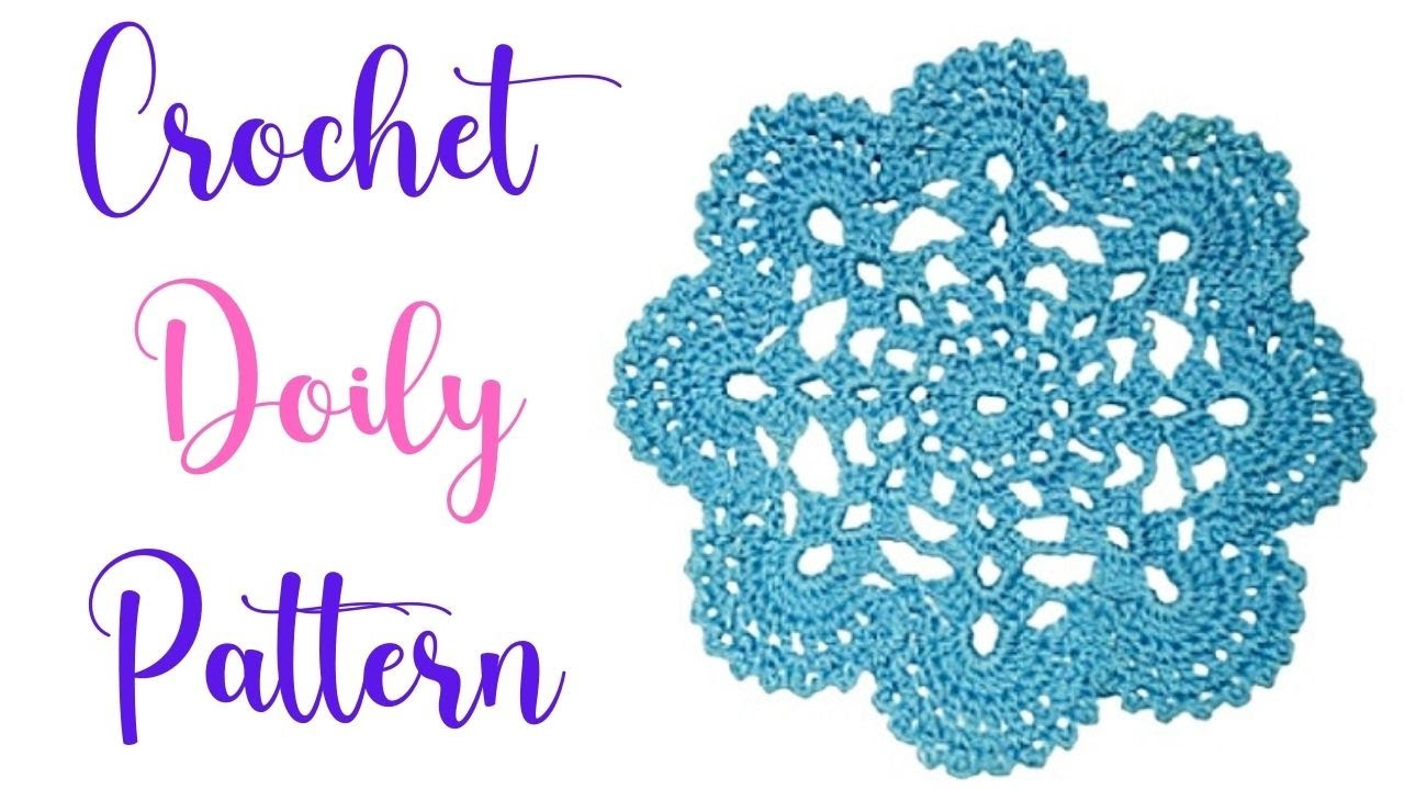 crochet doily patterns with diagram dna helix how to a part i jewel youtube