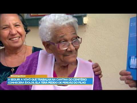 Conheça a vovó de 93 anos que trabalha em um cemitério