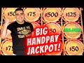 BIG HANDPAY JACKPOT On High Limit Dragon Link Slot | Live Slot Machine Jackpot Won ! Las Vegas 2021