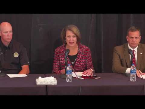 10/25/18 University of Utah Press Conference Shooting Update