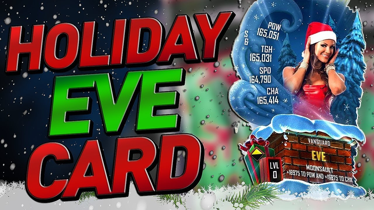 Wwe Supercard Christmas 2020 Start Time HOLIDAY EVE CARD!! VANGUARD FUSION! WWE SUPERCARD SEASON 6   YouTube