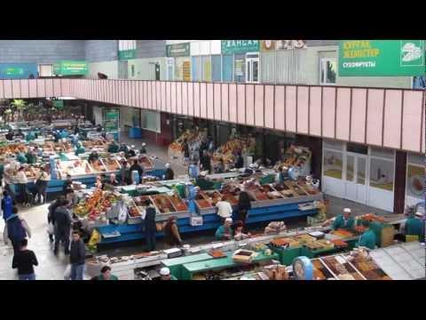 The Central Market - Zelyony Bazaar - Kazakhstan
