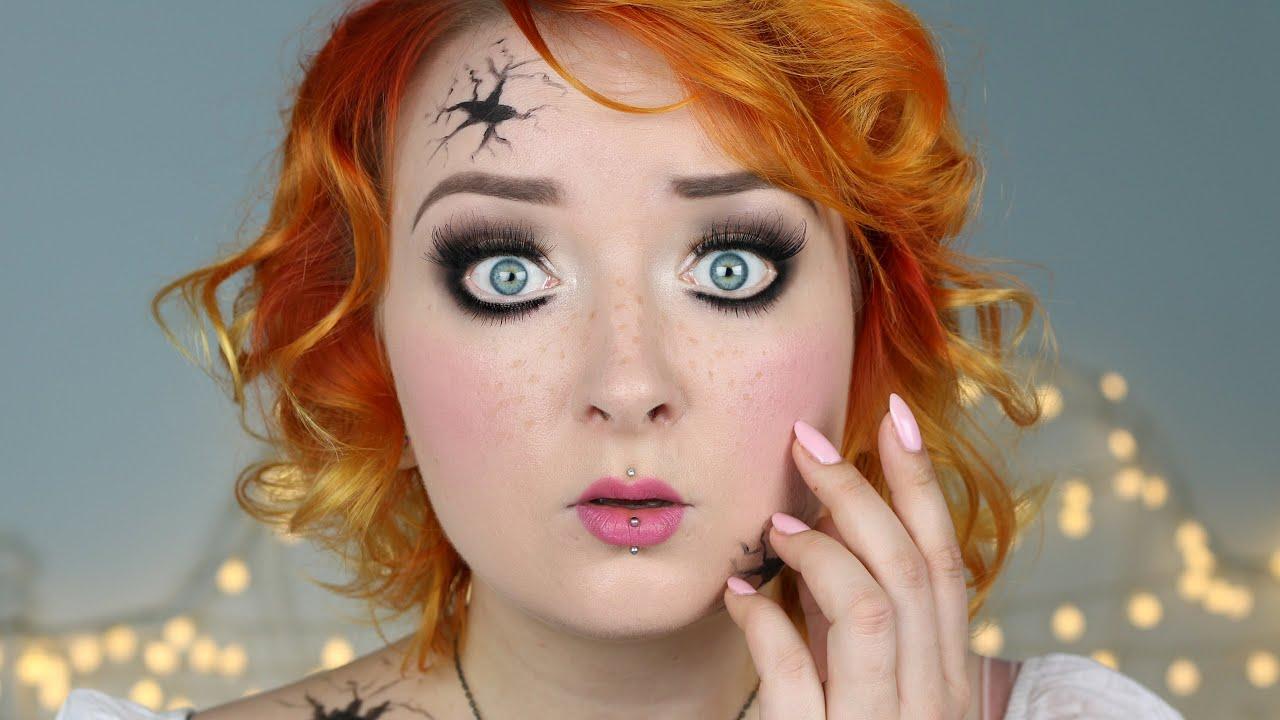 Lalka Tutorial Na Halloween Red Lipstick Monster Youtube