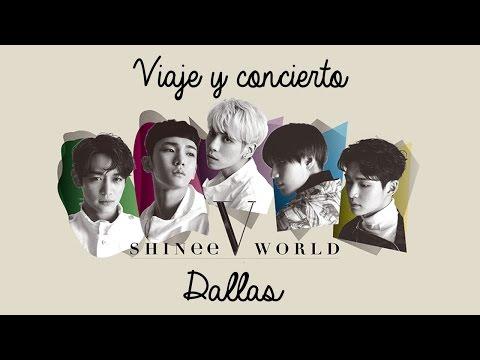 Concierto de SHINee en Dallas 2017 - Mi experiencia - Nori Pinku