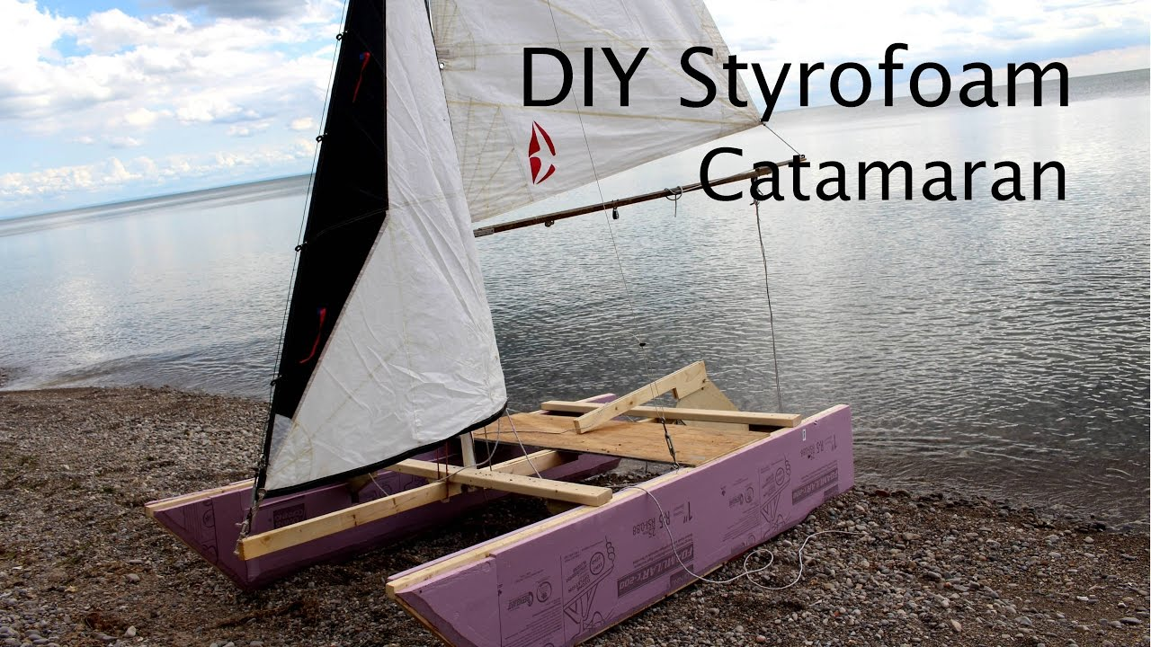 How to make a sailing catamaran with your own hands