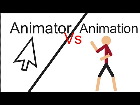 Animation vs animator(parody) Stick Nodes