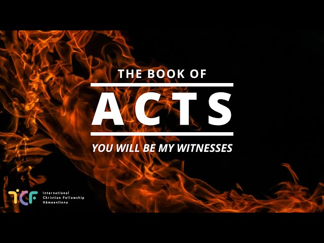 32. What is God like? (Acts 17v16-34) - Dave