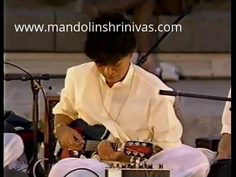 U Shrinivas ji at WOMAD 1992 - Raga Charukesi