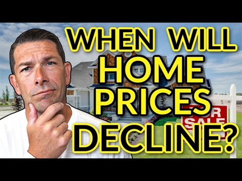 House Prices Forecast - When will home prices go down?