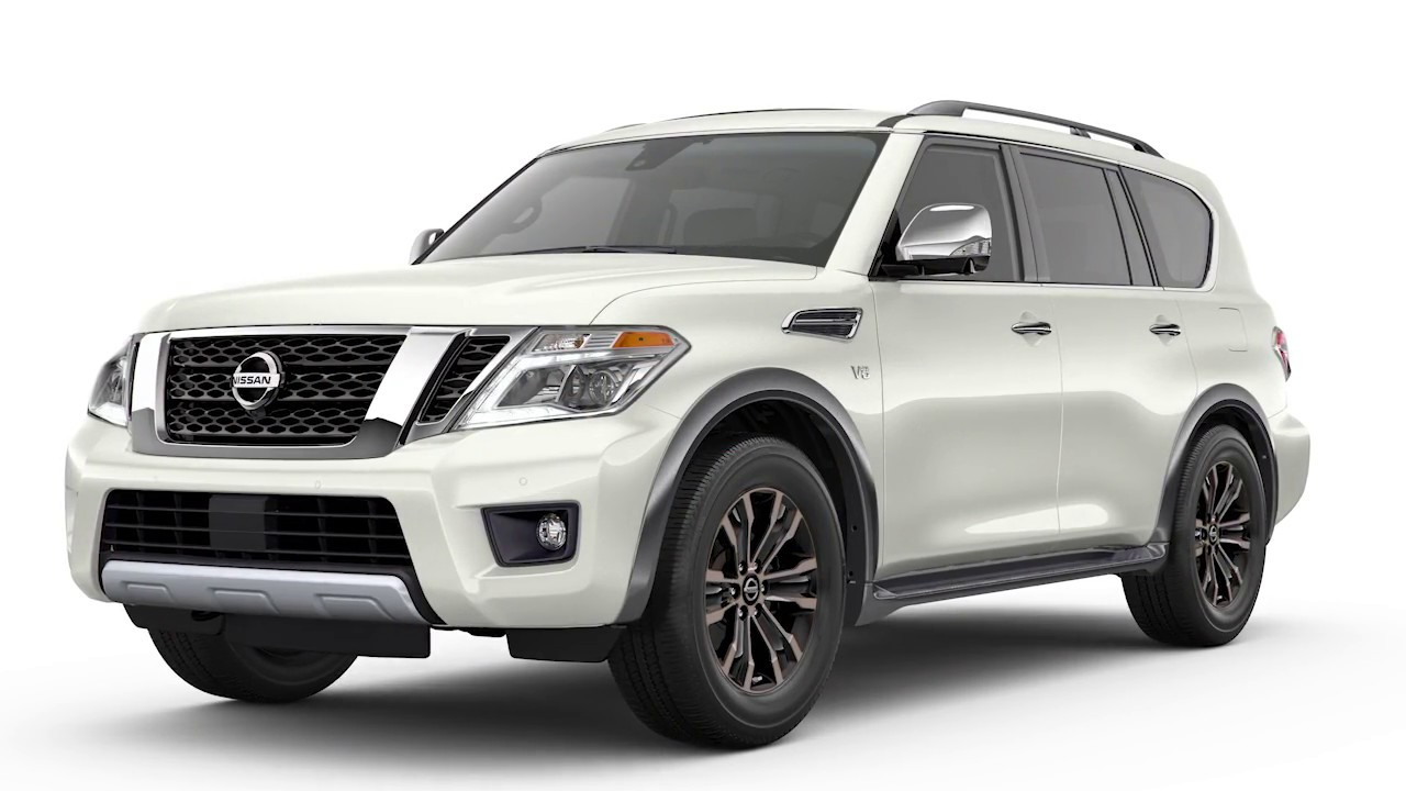 2019 Nissan Armada Fuel Functions Youtube