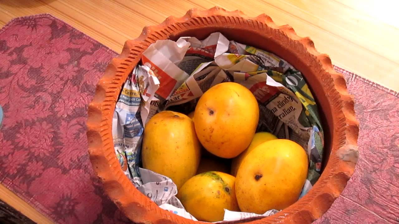 pictures How to Ripen Mangoes