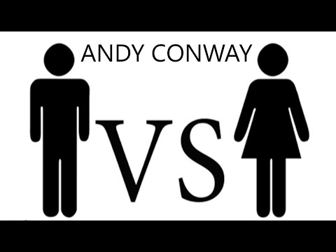 Men Vs Women By Andy Conway