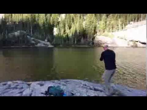 Fly Fishing At Mills Lake: Rocky Mountain National Park