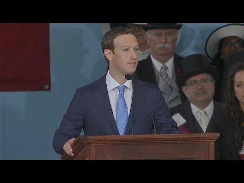 Harvard ehrt Mark Zuckerberg