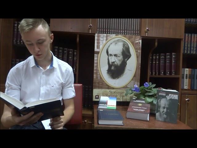 Изображение предпросмотра прочтения – ЕгорБулгаков читает произведение «Крохотки: Отражение в воде» А.И.Солженицына