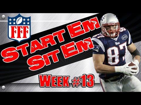Week 13 Start