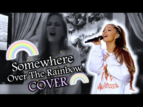 ARIANA GRANDE COVER SNIPPET | Somewhere Over the Rainbow from One Love Manchester