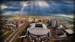 De Amsterdam Arena vanuit een drone