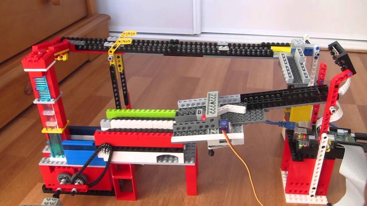 C# Lego ball sorter using a Raspberry Pi & OpenCV