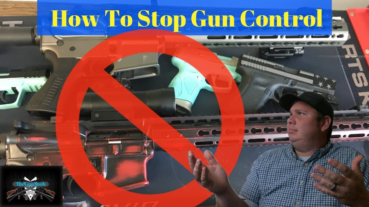 How To Stop Gun Control In 1 Easy Step