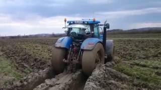 izvlacenje traktora iz Blata