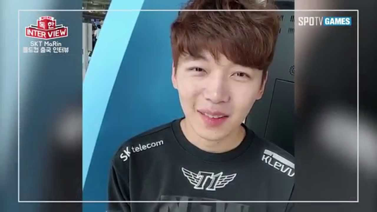 [롤드컵 특집] 독한 인터뷰- SKT T1 'MaRin' Intro - YouTube