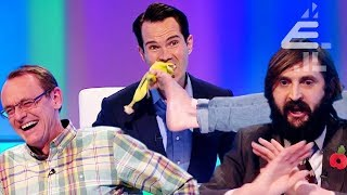 Jimmy Carr Eats Banana From Rob Beckett's FOOT!! | Best of Series 17 | 8 Out of 10 Cats