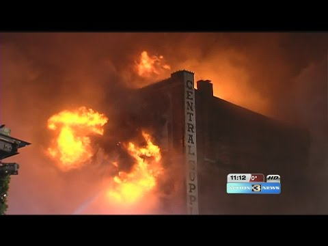 11PM: Latest update from the Old Market fire in Omaha