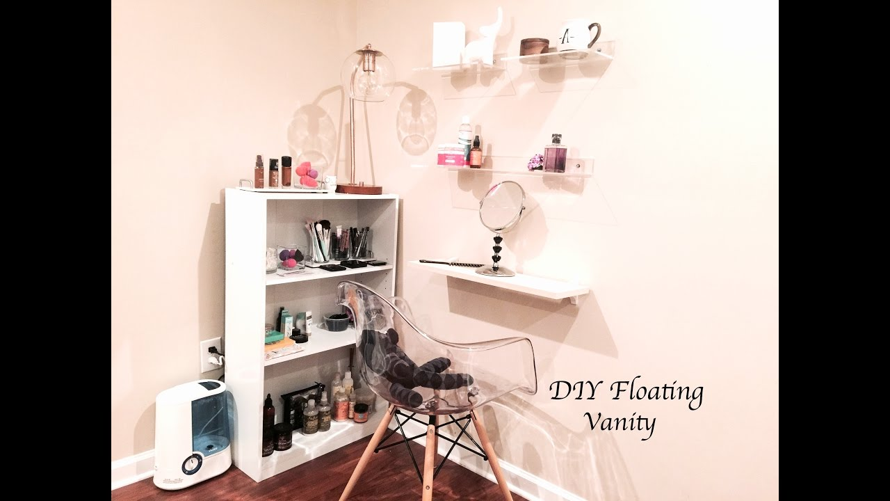 DIY Floating Vanity - YouTube