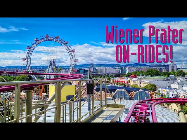 Wiener Prater Achterbahn On-Ride Rollercoaster