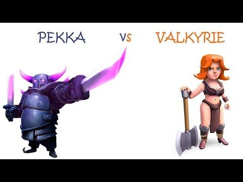 Pekka vs. Valkyrie | CoC Troops Comparison