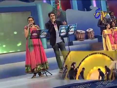 Swarabhishekam - Krishna Chaitanya, Pranavi Performance - Ammaye Sannaga Song - 10th August 2014