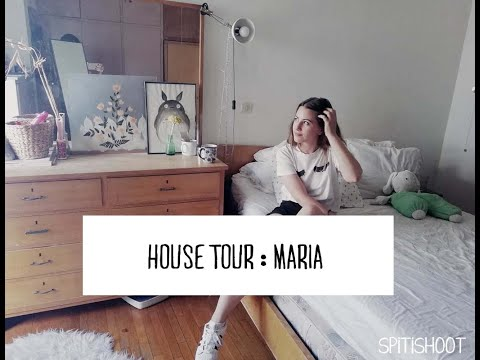 HOUSE TOUR : ΜΑΡΙΑ ΔΑΤΣΙΚΑ