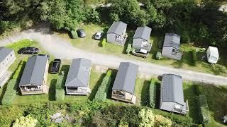 Camping Locronan vu du ciel en 2019