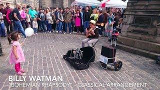 14 year old Busker - Billy Watman - Bohemian Rhapsody - Classical Guitar - Edinburgh Fringe