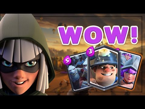 THREE MUSKET META IS BACK!! Great 12 Win Deck — Clash Royale