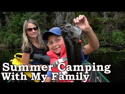Catch n Cook More Bass Over Fire | Camp Life | Family Summer Camping (2 of 3)